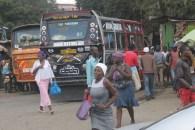 Running for the bus in Nairobi