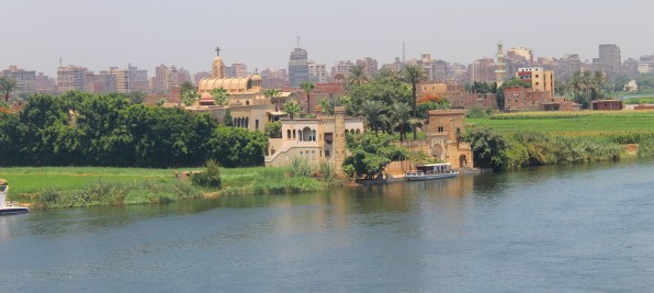 The River Nile in Cairo, Egypt