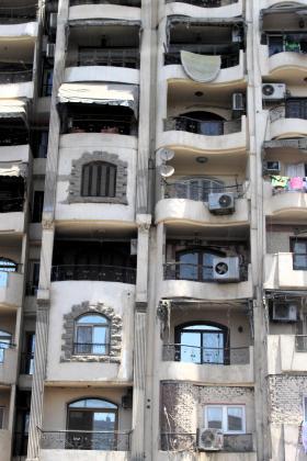 Cairo apartment block