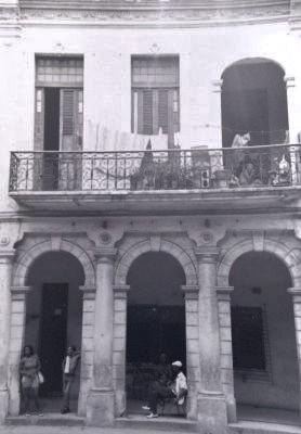 Old street in Havana, Cuba