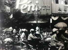 Street scene in Jakarta, Java, Indonesia