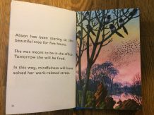 Alison in the The Ladybird book of Mindfulness