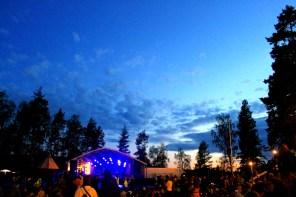Views from Urkult music festival in Näsåker, Sweden