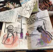 Travel sketch ideas