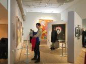 People at the Millesgården Hilma af Klint exhibition