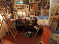 My studio space