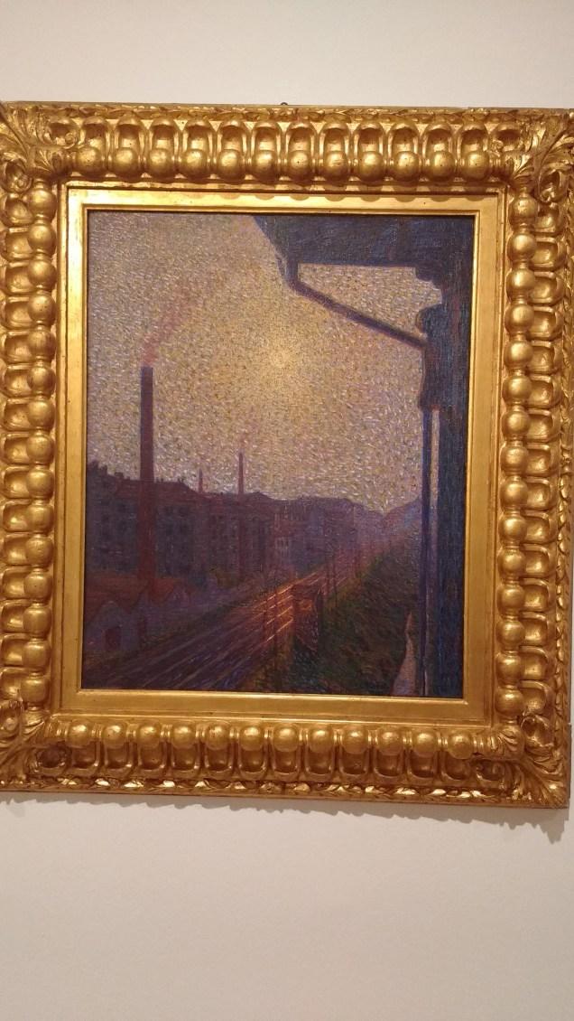 """Luigi Russoli, """"Periferia-Lavoro"""" 1910"""