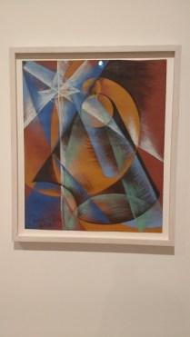"""Giacomo Balla, """"Il pianeta Mercurio passa davant al sole"""" 1914"""