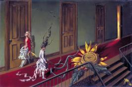 Eine Kleine Nachtmusik, Dorothea Tanning 1943 Dorothea Tanning 1910-2012 Purchased with assistance from the Art Fund and the American Fund for the Tate Gallery 1997 http://www.tate.org.uk/art/work/T07346