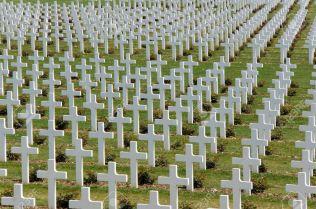 Kriegsgräber-Gedenkstätte, Verdun, Lothringen, Frankreich