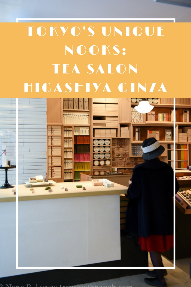 Tokyo's Tea Salon Higashiya Ginza by Travel With Nano B. www.travelwithnanob.com