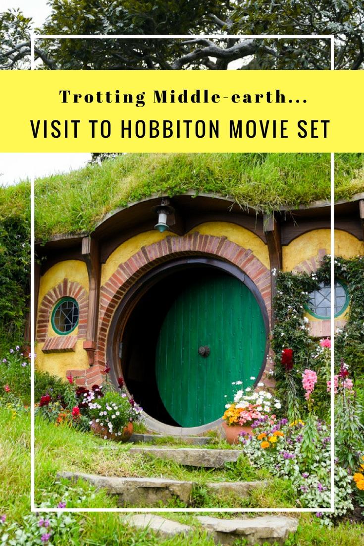 Visiting Hobbiton Movie Set on www.travelwithnanob.com