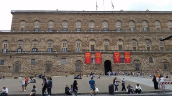 Part of the Palazzo Pitti