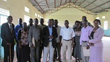 Group shot of Heads of Primary Schools in Bungoma County