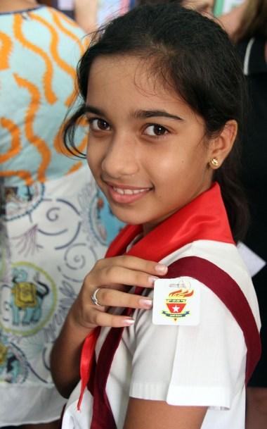 Meet a schoolgirl on your trip to Cuba