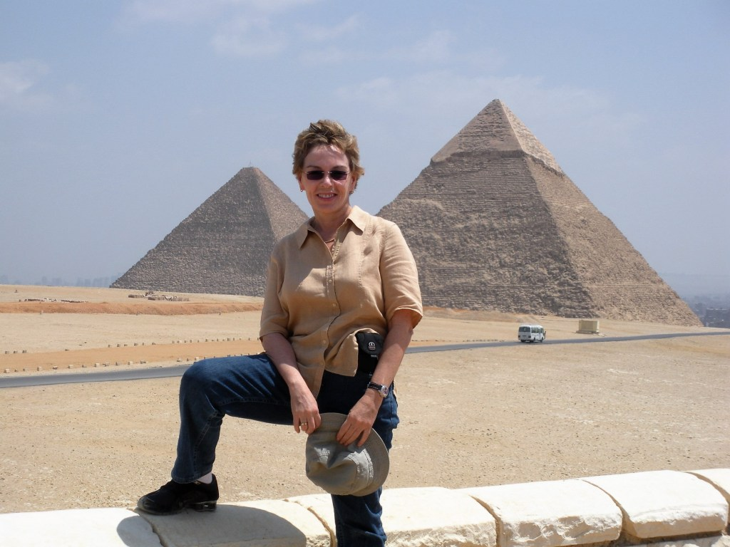 Talek on Egyptian travels pyramids in Giza