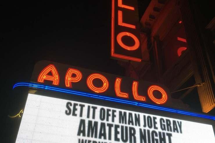 Apollo theatre, Harlem, NYC, New York City, Amature night at the Apollo
