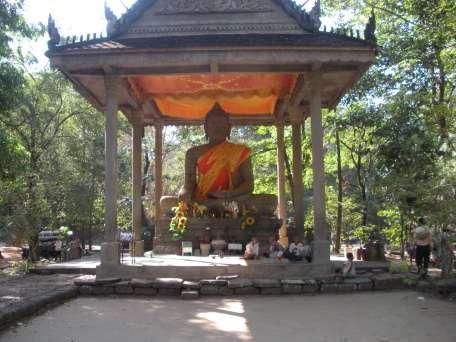 Buddhist temple outside Angkor Wat
