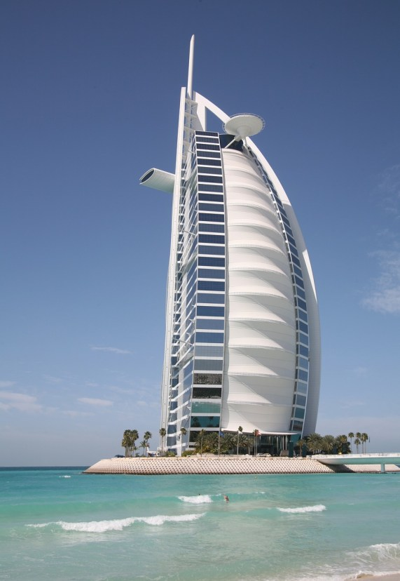 Activities in Dubai, Burj Al Arab, luxury hotel, in Dubai