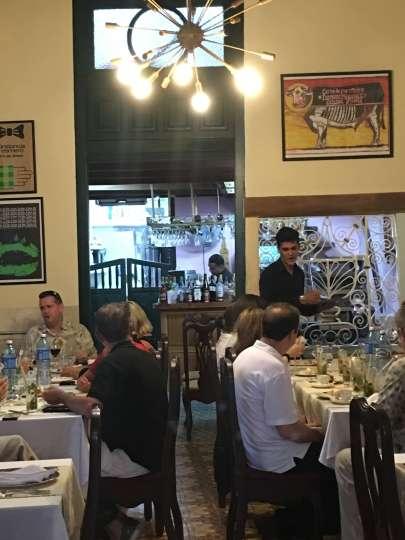Paladar Mercaderes, restaurant, Havana, Cuba,