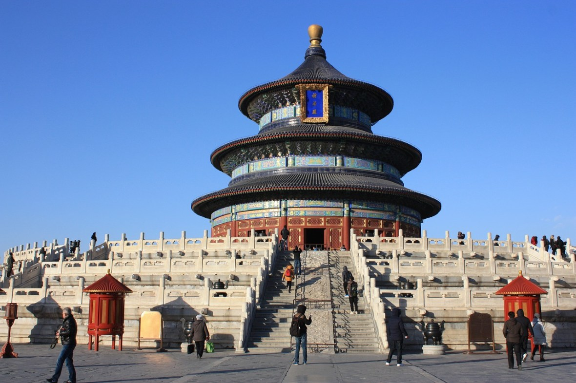 The Temple of Heaven is one of the things you must see in Beijing.