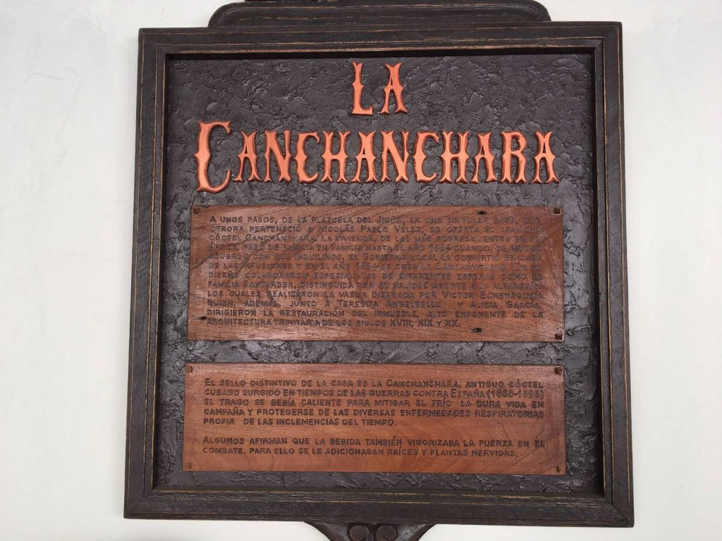 The Canchanchara bar in Trinidad, Cuba