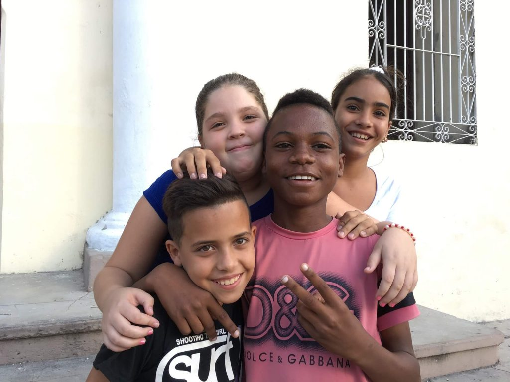 Children smile. Things to do in Trinidad, Cuba