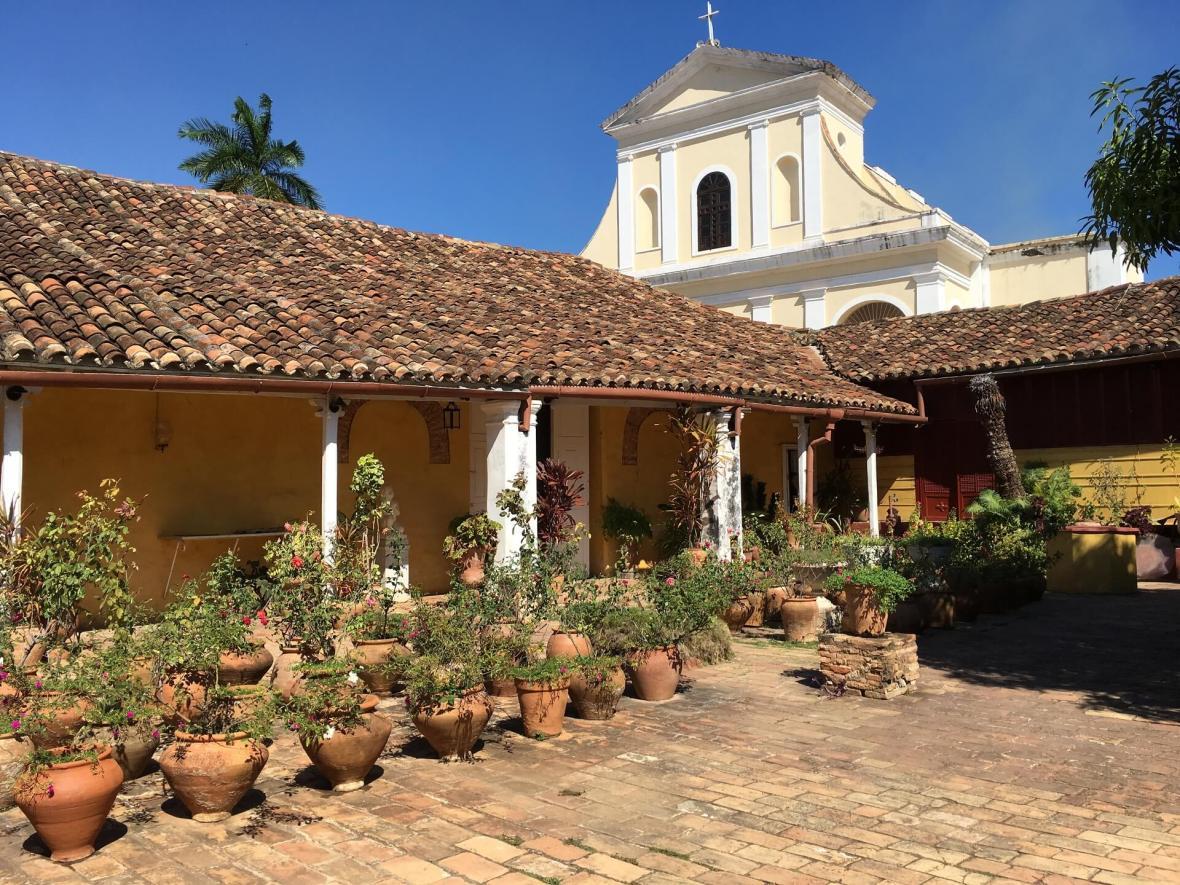 Museum in Trinidad, Cuba