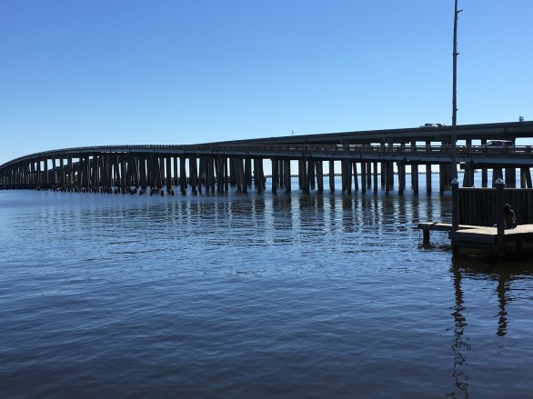 Middendorf's pier in New Orleans