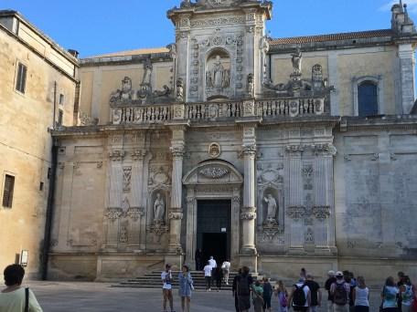 Lecce's baroque architecture