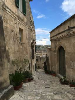 Get lost in a Matera street.