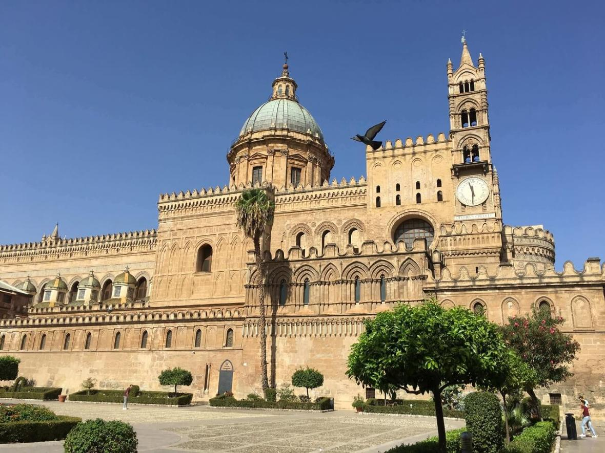 Palermo's magnificent cathedral.