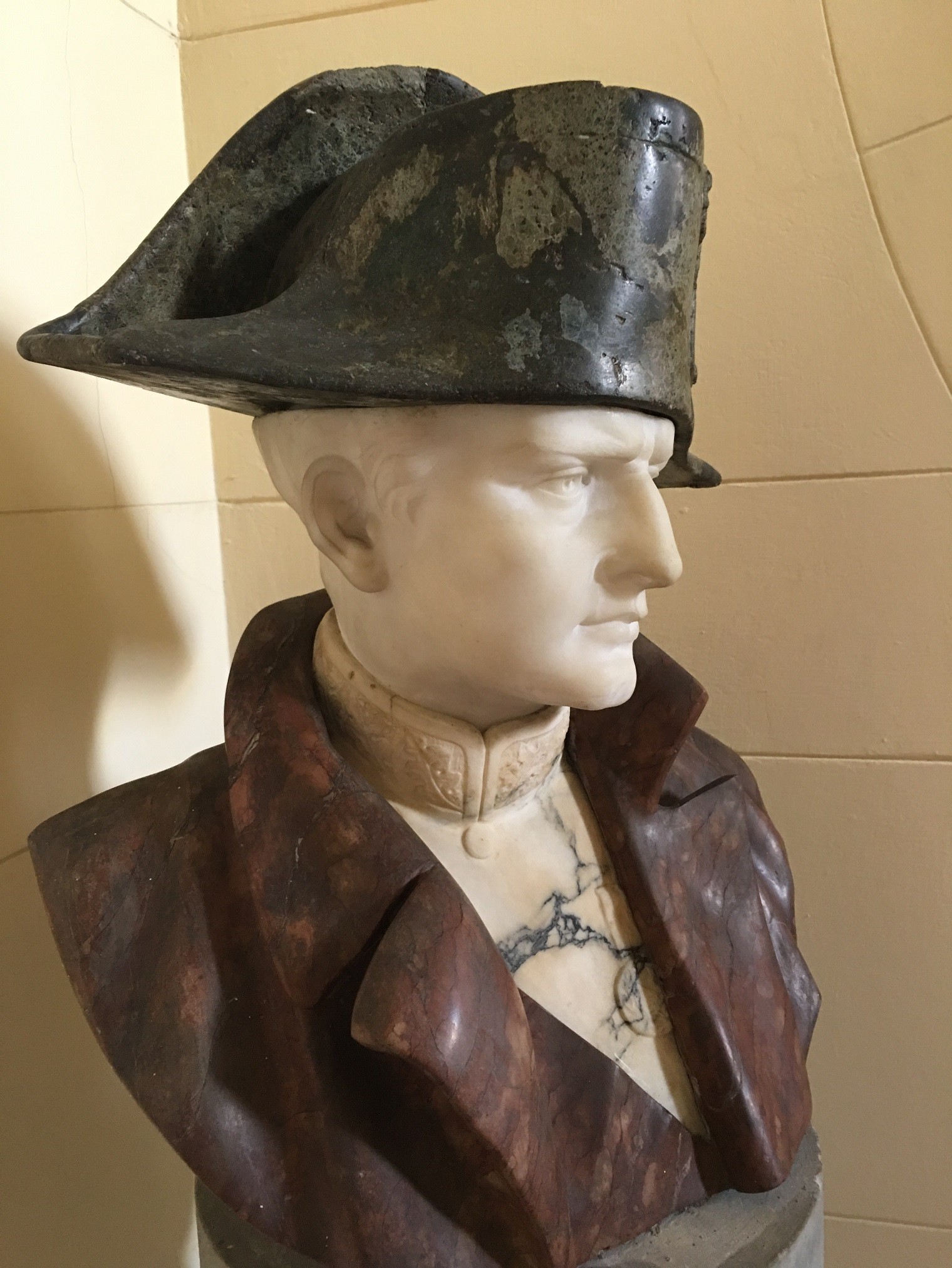 Napoleon in his namesake museum.