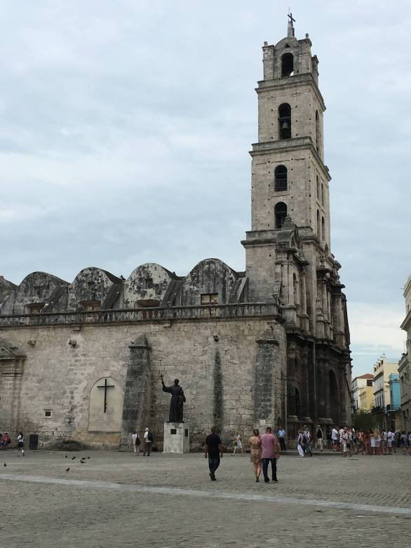 Plaza de San Francisco in Havana