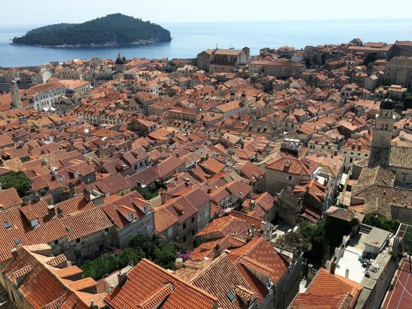 Rooftops of Dubrovnik