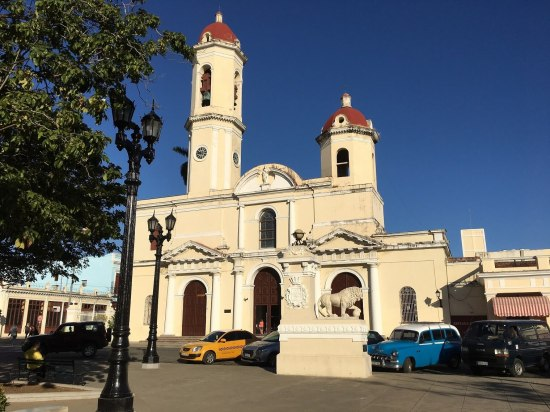 Cathedral of Cienfuegos.