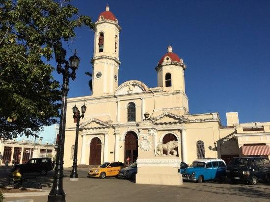 Cathedral of Cienfuegos.