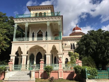 Del Valle Mansion in Punta Gorda, Cienfuegos.