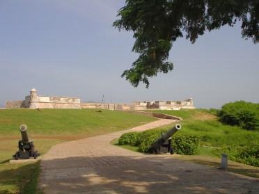 Cannons at El Morro Fortress.