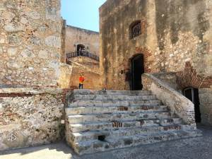 Stairs leading to the prison of El Morro