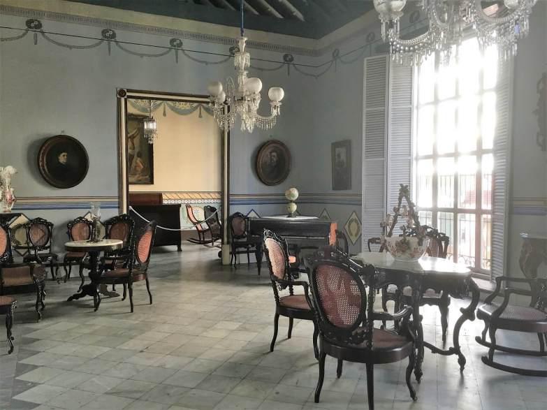 Living room Casa Velasquez. in Santiago