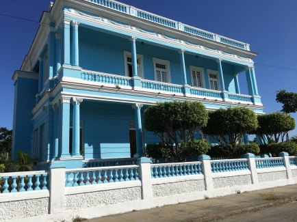 Renovated guest house in Cienfuegos.