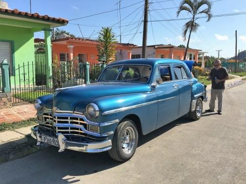 1949 Chrysler in a Cuban street