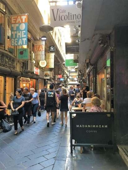 Reasons to visit Melbourne. Melbourne, Australia lanes