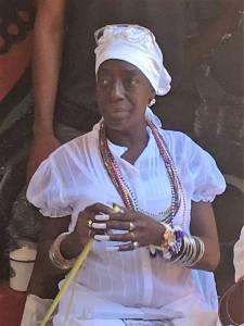 Santeria priestess in Hidden Havana
