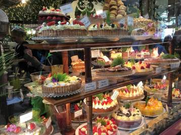 Bakery in Melbourne, Australia arcades
