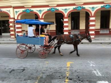 multiperson horse cart A