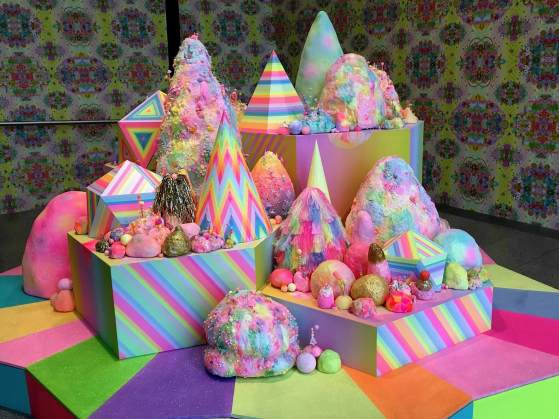 Reasons to visit Melbourne. Pink Candy Art in Melbourne