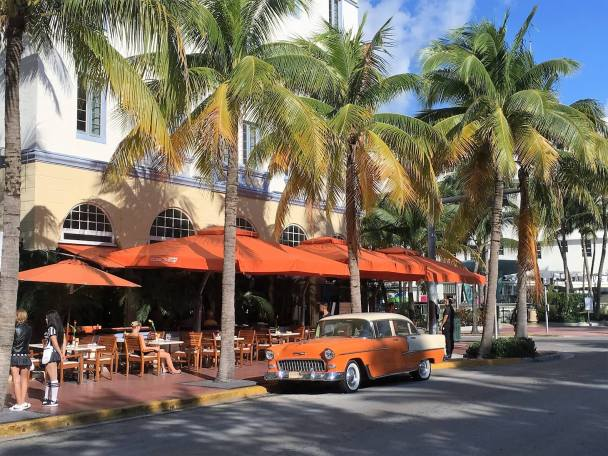Orange on South Beach