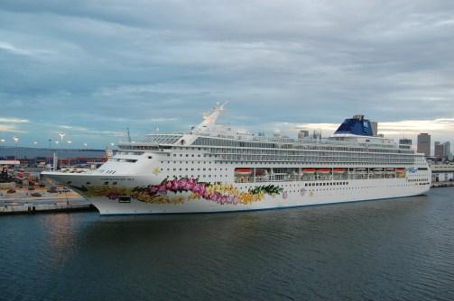 South Beach cruise ship